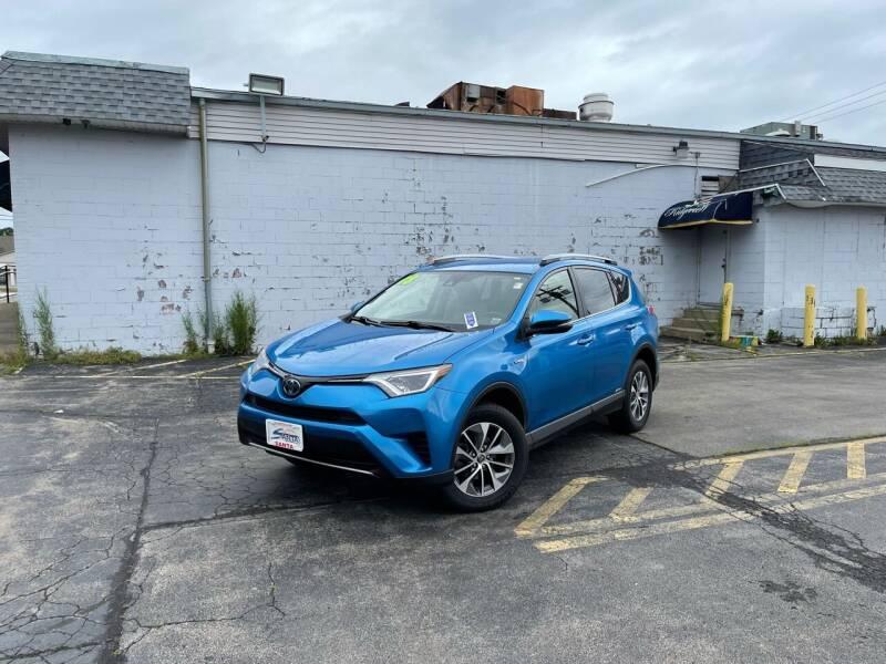 2018 Toyota RAV4 Hybrid for sale at Santa Motors Inc in Rochester NY