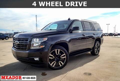 2018 Chevrolet Tahoe for sale at Meador Dodge Chrysler Jeep RAM in Fort Worth TX