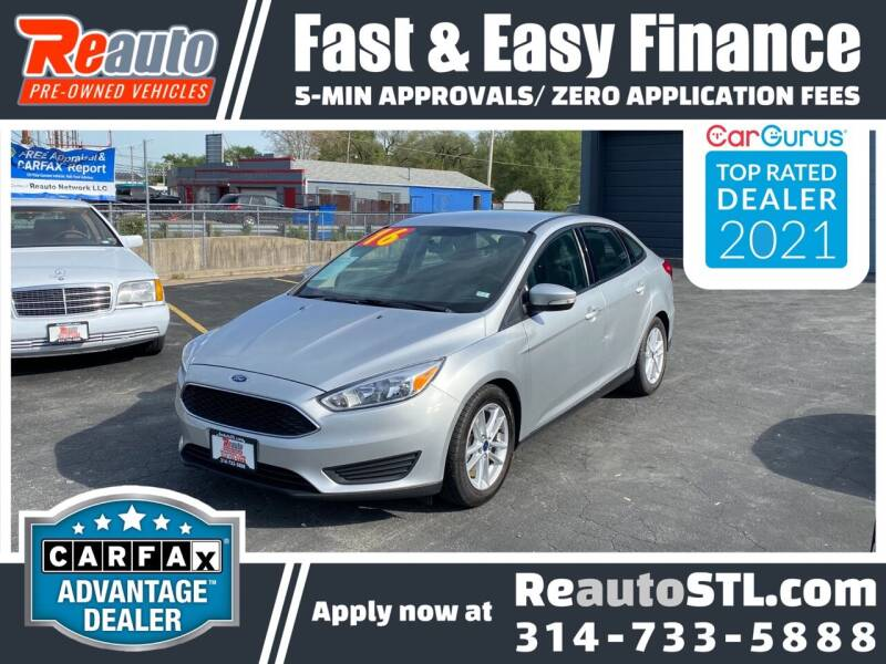 2016 Ford Focus for sale at Reauto in Saint Louis MO