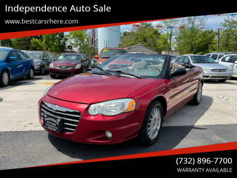 2006 Chrysler Sebring for sale at Independence Auto Sale in Bordentown NJ