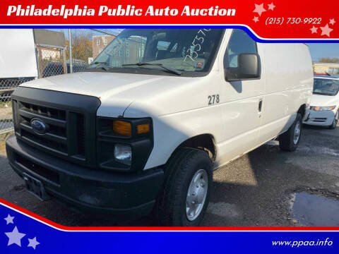2008 Ford E-Series Cargo for sale at Philadelphia Public Auto Auction in Philadelphia PA