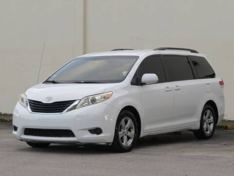 2011 Toyota Sienna for sale at DK Auto Sales in Hollywood FL