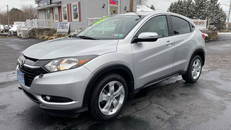 2016 Honda HR-V for sale at RBT Automotive LLC in Perry OH
