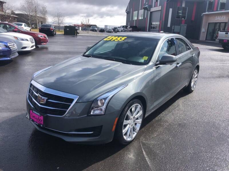 2016 Cadillac ATS for sale at Snyder Motors Inc in Bozeman MT