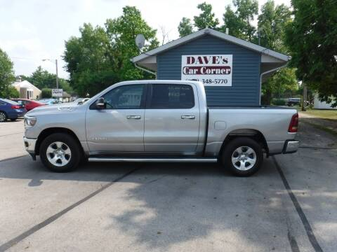 2019 RAM Ram Pickup 1500 for sale at Dave's Car Corner in Hartford City IN