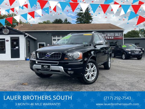 2013 Volvo XC90 for sale at LAUER BROTHERS SOUTH in York PA