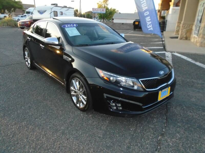 2014 Kia Optima for sale at Team D Auto Sales in Saint George UT