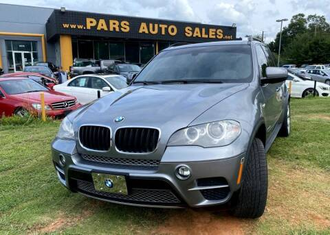 2012 BMW X5 for sale at Pars Auto Sales Inc in Stone Mountain GA