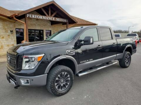 2016 Nissan Titan XD for sale at Performance Motors Killeen Second Chance in Killeen TX