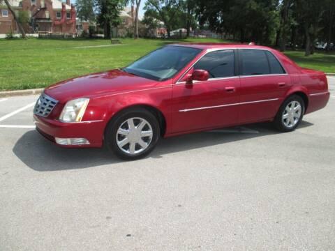 2010 Cadillac DTS for sale at RENNSPORT Kansas City in Kansas City MO