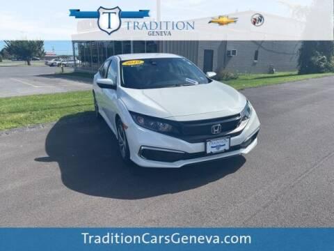 2019 Honda Civic for sale at Tradition Chevrolet Buick in Geneva NY