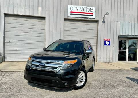 2013 Ford Explorer for sale at CTN MOTORS in Houston TX
