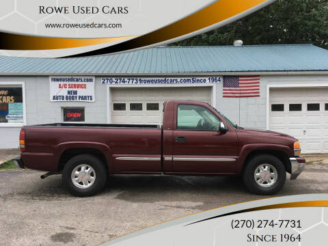2002 GMC Sierra 1500 for sale at Rowe Used Cars in Beaver Dam KY