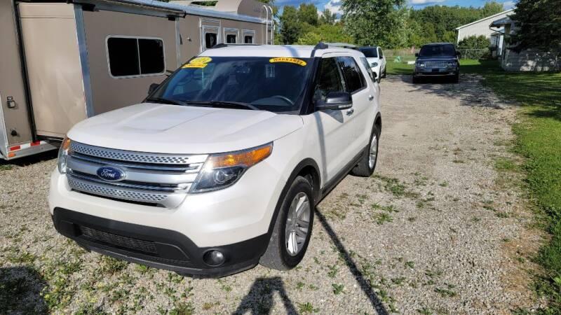2014 Ford Explorer for sale at Clare Auto Sales, Inc. in Clare MI