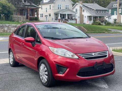 2011 Ford Fiesta for sale at MZ Auto in Winchester VA