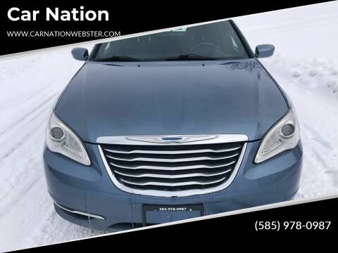 2011 Chrysler 200 for sale at Car Nation in Webster NY