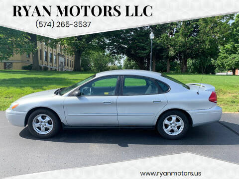 2005 Ford Taurus for sale at Ryan Motors LLC in Warsaw IN