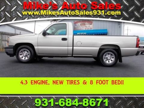 2006 Chevrolet Silverado 1500 for sale at Mike's Auto Sales in Shelbyville TN