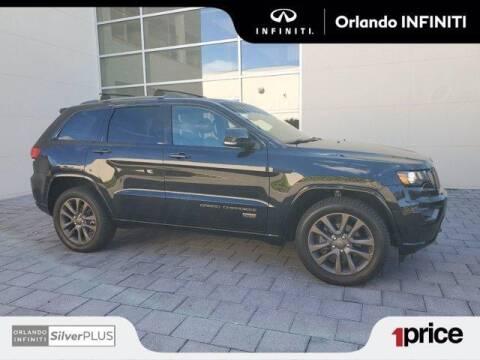 2016 Jeep Grand Cherokee for sale at Orlando Infiniti in Orlando FL