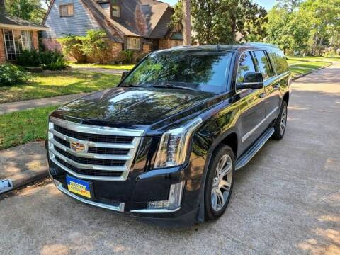 2015 Cadillac Escalade ESV for sale at Amazon Autos in Houston TX