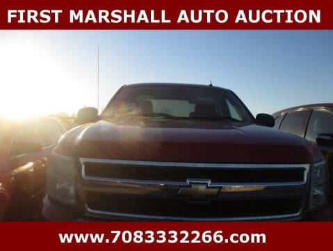 2011 Chevrolet Silverado 1500 for sale at First Marshall Auto Auction in Harvey IL