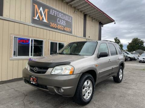 2002 Mazda Tribute for sale at M & A Affordable Cars in Vancouver WA