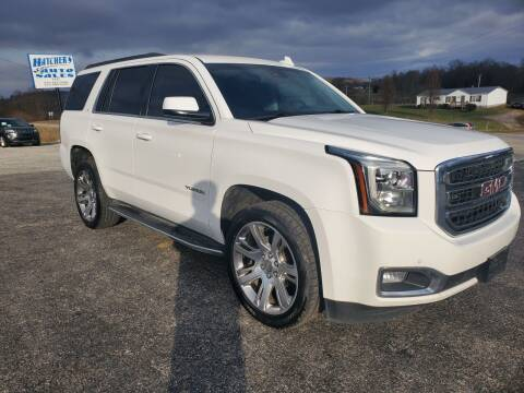 2017 GMC Yukon for sale at Hatcher's Auto Sales, LLC in Campbellsville KY