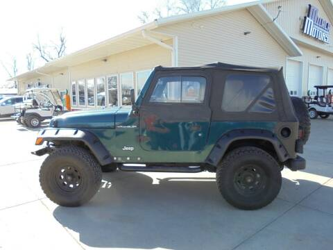 1998 Jeep Wrangler for sale at Milaca Motors in Milaca MN