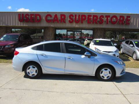 2017 Chevrolet Cruze for sale at Checkered Flag Auto Sales NORTH in Lakeland FL