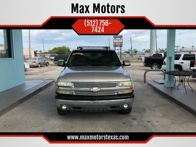 2004 Chevrolet Suburban for sale at Max Motors in Corpus Christi TX