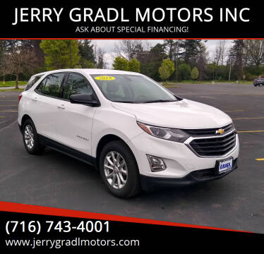2019 Chevrolet Equinox for sale at JERRY GRADL MOTORS INC in North Tonawanda NY