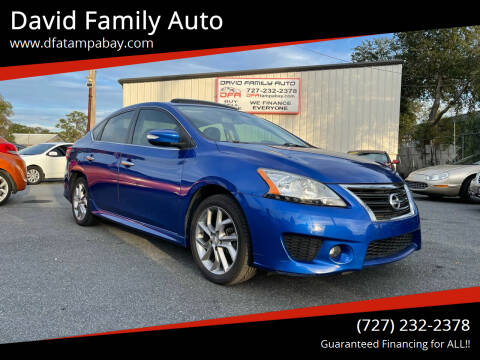 2015 Nissan Sentra for sale at David Family Auto in New Port Richey FL