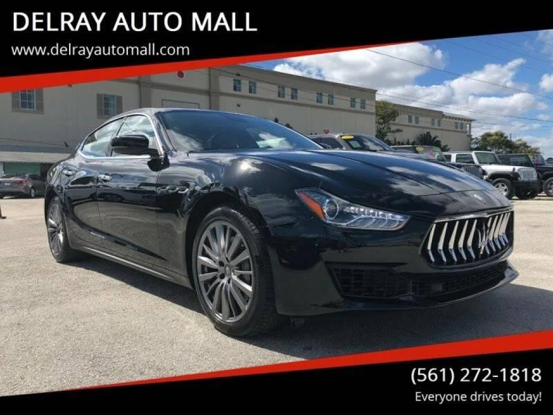 2018 Maserati Ghibli for sale at DELRAY AUTO MALL in Delray Beach FL