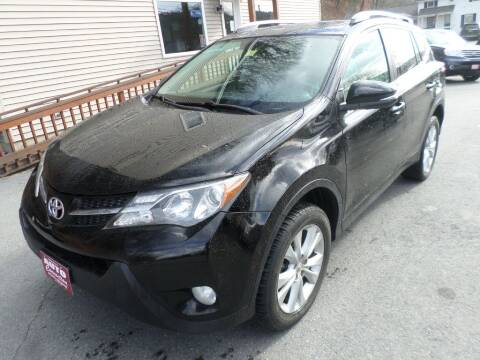 2014 Toyota RAV4 for sale at AUTO CONNECTION LLC in Springfield VT