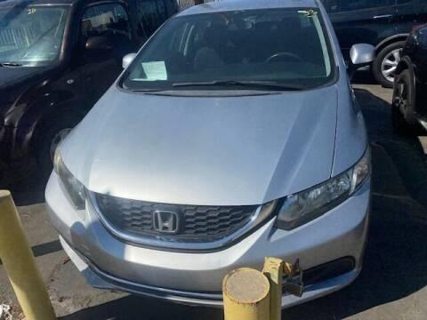 2013 Honda Civic for sale at Affordable Auto Inc. in Pico Rivera CA
