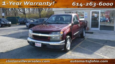 2007 Chevrolet Colorado for sale at Clintonville Car Sales - AutoMart of Ohio in Columbus OH