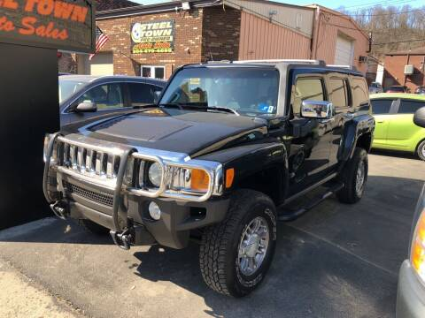2006 HUMMER H3 for sale at STEEL TOWN PRE OWNED AUTO SALES in Weirton WV