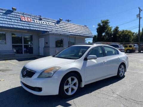 2009 Nissan Altima for sale at RD Motors, Inc in Charlotte NC
