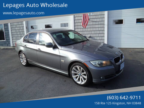 2011 BMW 3 Series for sale at Lepages Auto Wholesale in Kingston NH