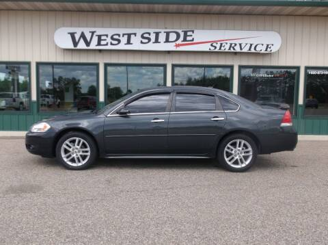 2014 Chevrolet Impala Limited for sale at West Side Service in Auburndale WI