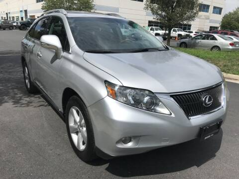 2010 Lexus RX 350 for sale at Dotcom Auto in Chantilly VA