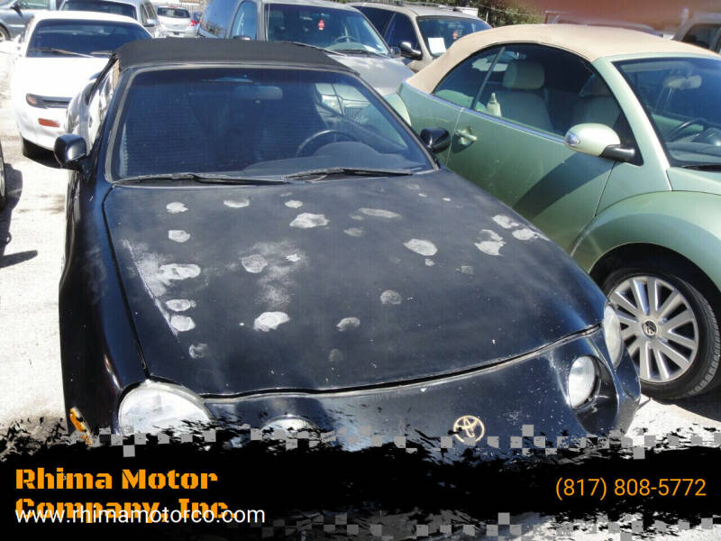 1996 Toyota Celica for sale at Rhima Motor Company, Inc. in Haltom City TX