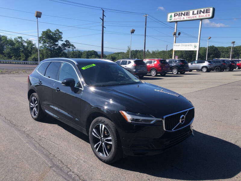 2018 Volvo XC60 for sale at Pine Line Auto in Olyphant PA