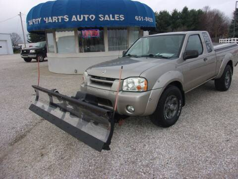 2004 Nissan Frontier for sale at Marty Hart's Auto Sales in Sturgis MI