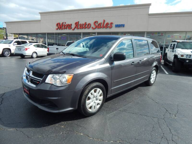 2017 Dodge Grand Caravan for sale at Mira Auto Sales in Dayton OH