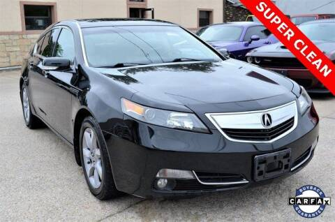 2012 Acura TL for sale at LAKESIDE MOTORS, INC. in Sachse TX