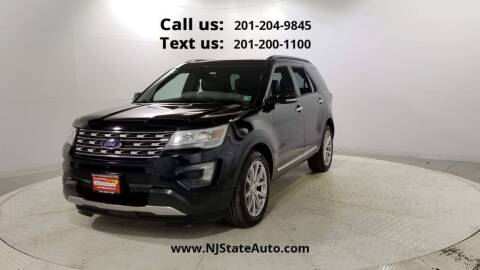 2016 Ford Explorer for sale at NJ State Auto Used Cars in Jersey City NJ