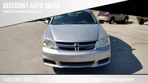 2014 Dodge Avenger for sale at DISCOUNT AUTO SALES in Johnson City TN