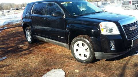 2011 GMC Terrain for sale at Expressway Auto Auction in Howard City MI