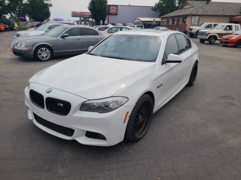 2012 BMW 5 Series for sale at Silverline Auto Boise in Meridian ID